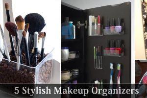 5-Stylish-Makeup-Organizers